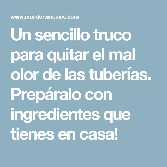 Trucos de casa olores great with trucos de casa olores - Como quitar el olor a tabaco ...