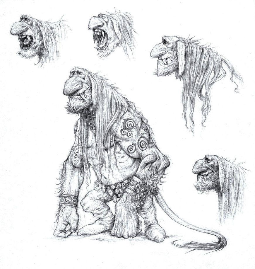 Tusked Troll by eoghankerrigan on DeviantArt