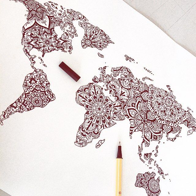 Love this more brady pinterest drawing tattoos worldmap and love this more map tattoosdrawing gumiabroncs Gallery