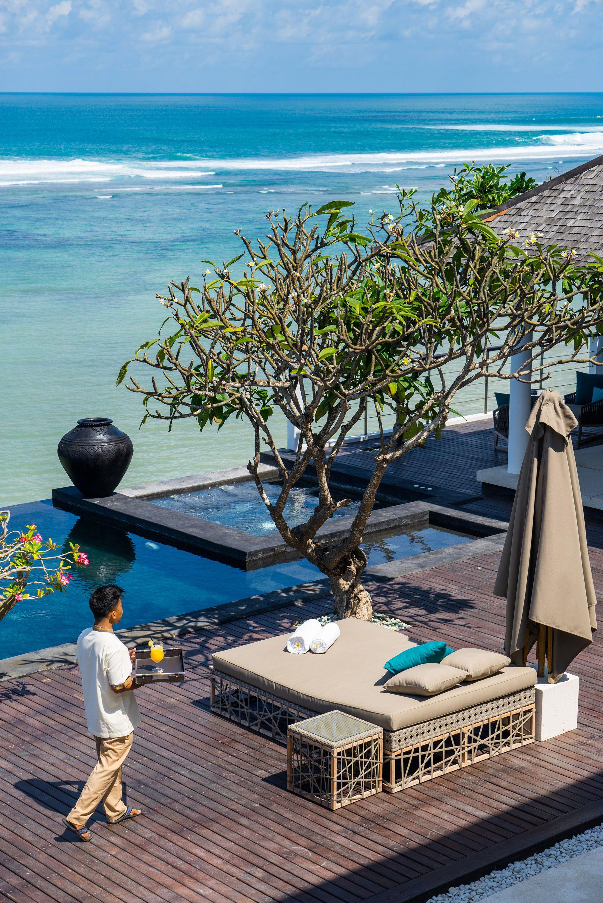 Pin On Beachfront Villa Bali