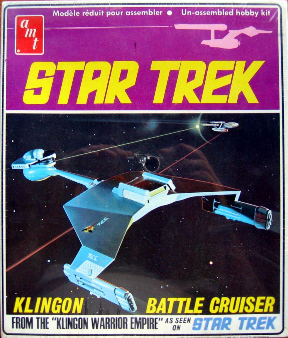 Star Trek: Klingon D-7 Battle Cruiser Model Kit | Star Trek