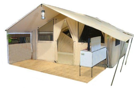 Cabanon Safari Lodge vouwwagen De Wit Schijndel   Safari
