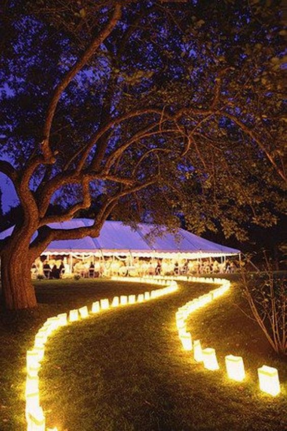 40 romantic and whimsical wedding lighting ideas romantic 40 romantic and whimsical wedding lighting ideas outdoor decorations junglespirit Gallery