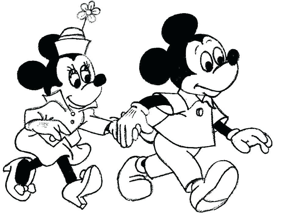 Image result for mickey mouse coloring pages happy ...