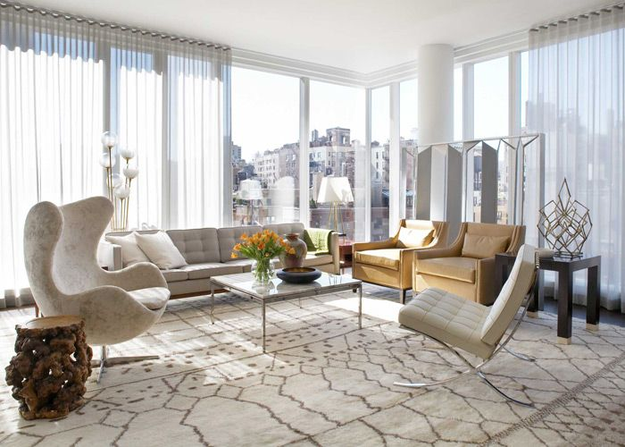 Appartment By Interior Designer Neal Beckstedt On A Recent New York City Residence