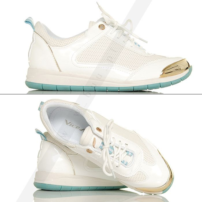 Biale Lakierowane Miejskie Adidasy 5461297884 Oficjalne Archiwum Allegro Shoes Slip On Sneaker Sneakers