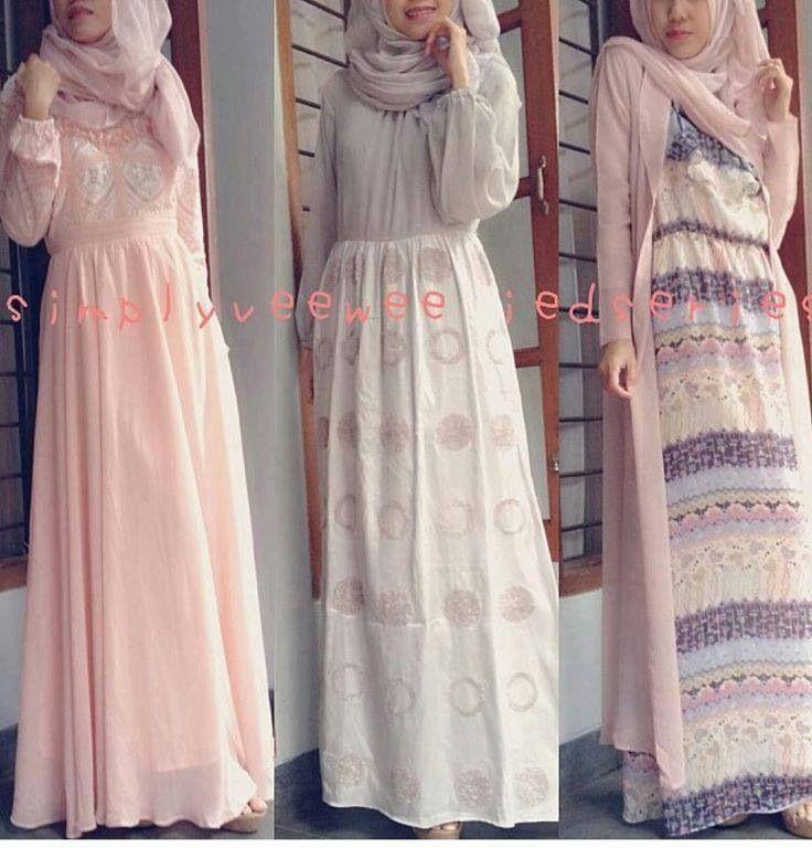 Maxi dresses fashion hijab