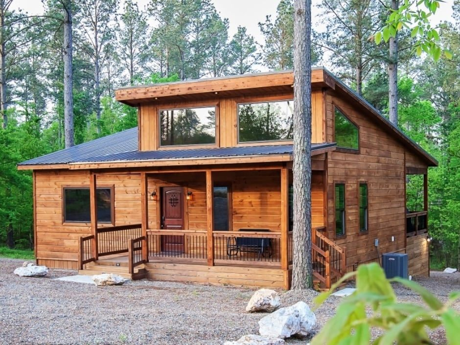 Broken Bow Vacation Cabins Memory Maker 1 Bedroom Accommodates Up To 4 Guests Pet Friendly Wifi Hot Tub Backyard Cabin Small Cabin Designs Diy Cabin