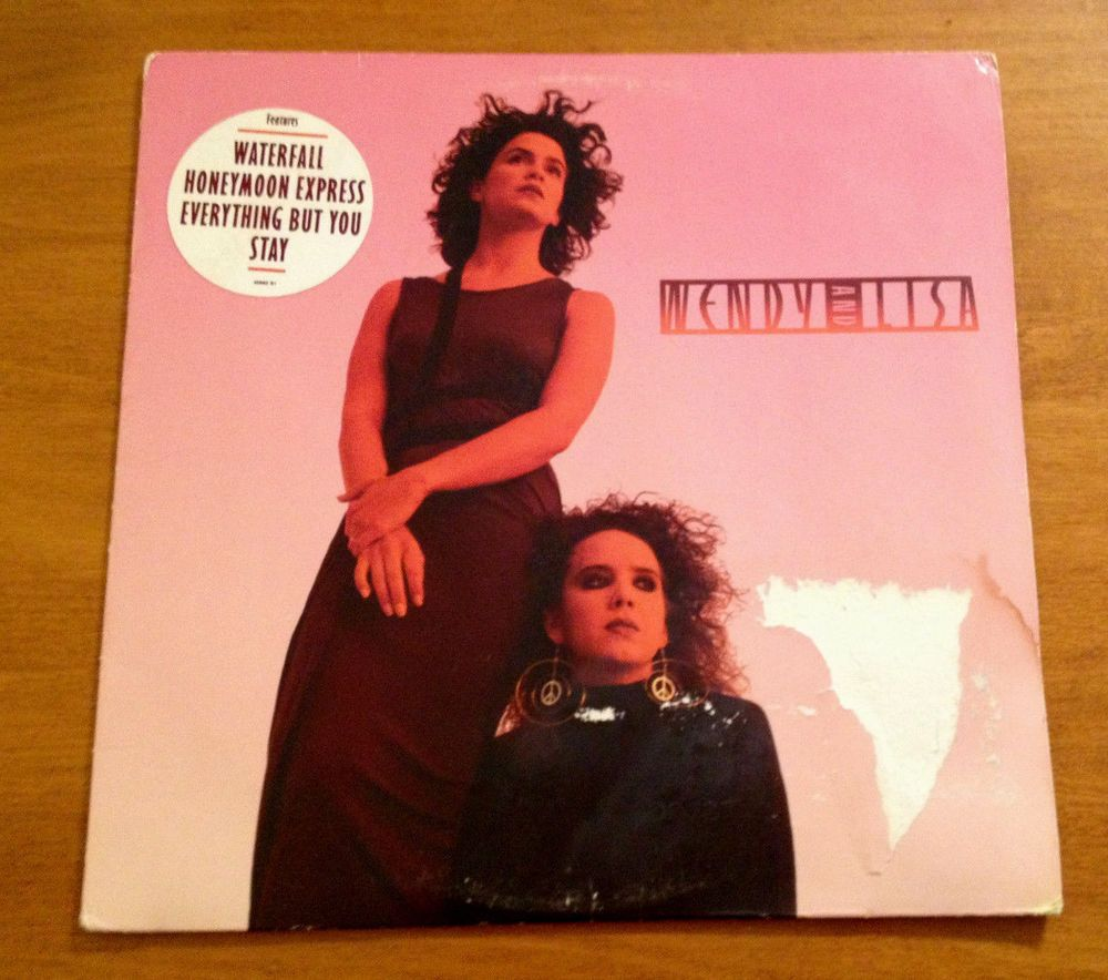 Wendy And Lisa Self Titled Lp 1987 Columbia Vinyl Record Prince