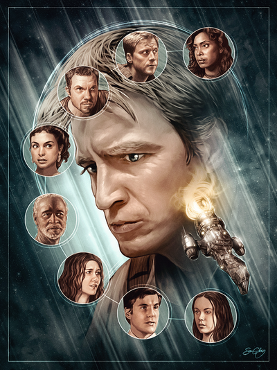 Check out Sam Gilbey's stunning Joss Whedon tribute piece! The show opens TOMORROW NIGHT, 7-10 PM at G1988 (West)!!!