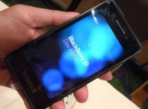 Some phones based on BlackBerry 10 is starting to look, there are