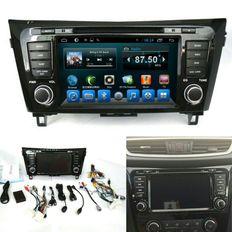 Factory wholesale: 8' Android 6 0 Quad Core Car Multimedia System