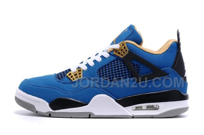 14a3fc08c5462e Air Jordan 4 Retro Men  Shoes blue black outlet   USA sales Nike shoes  online Off from China factory
