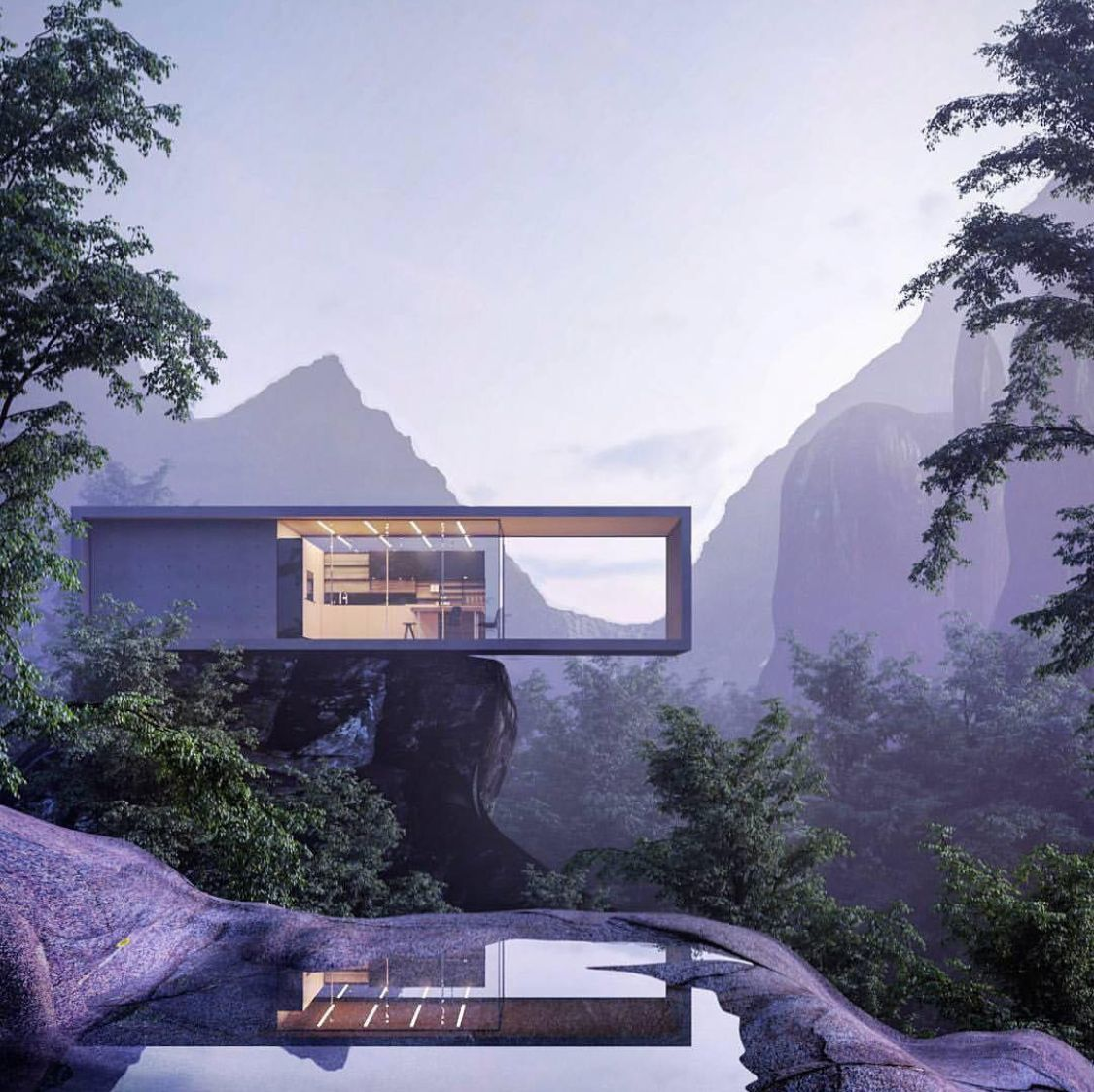 Pin by Max Bulwa on Dream Houses | Pinterest | Architecture ... Organic Architecture Home Designs on prairie style design homes, modular design homes, solar design homes, art deco design homes, frank lloyd wright design homes, green design homes, spain design homes,