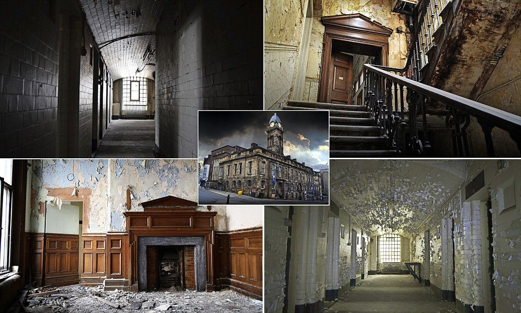 Amazing abandoned Victorian court, in Sheffield - follow the link for lots of pictures of the decayed interiors.