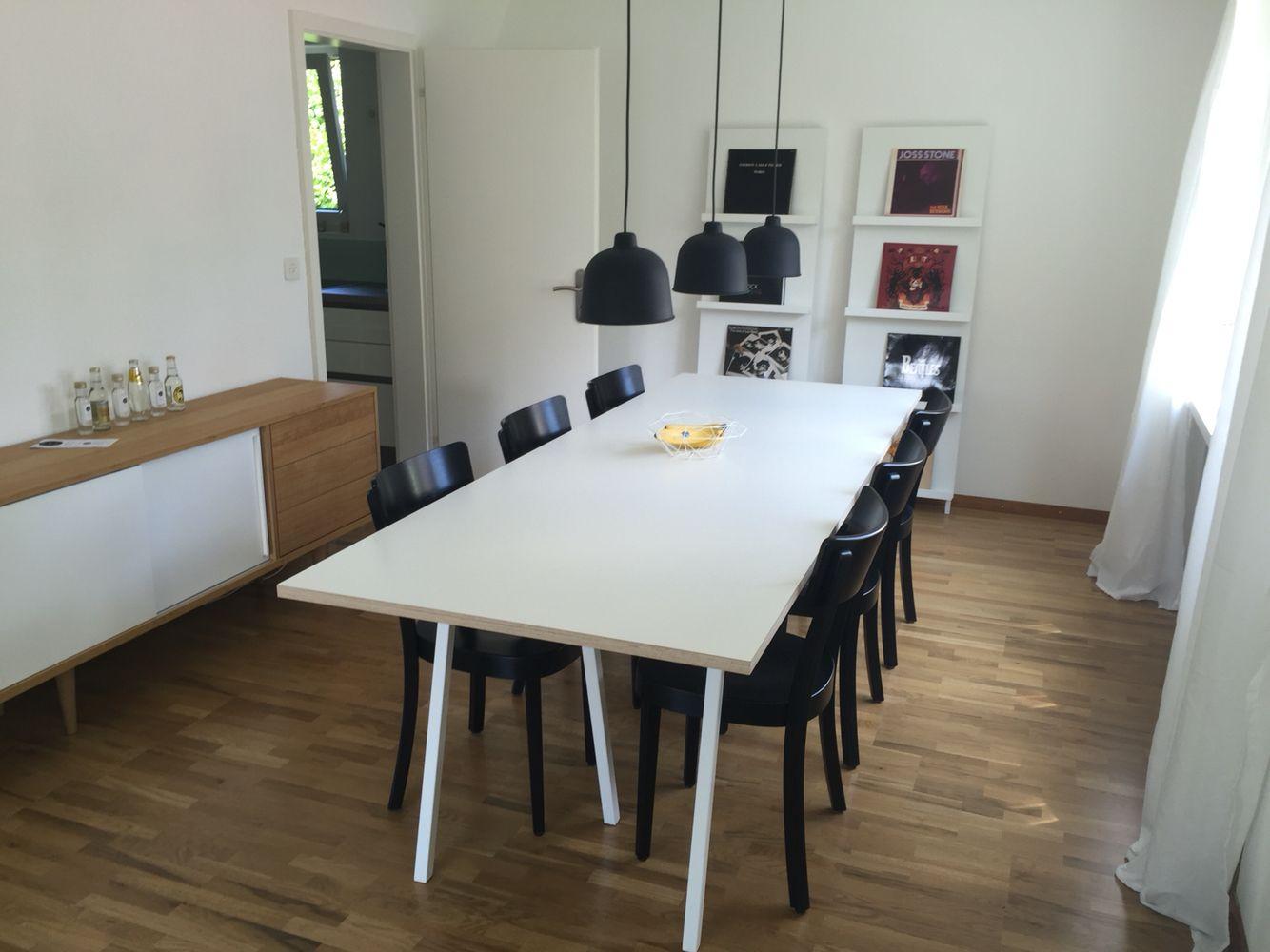 Hay Loop Stand Table Horgen Glarus Classic Muuto Grain Huis