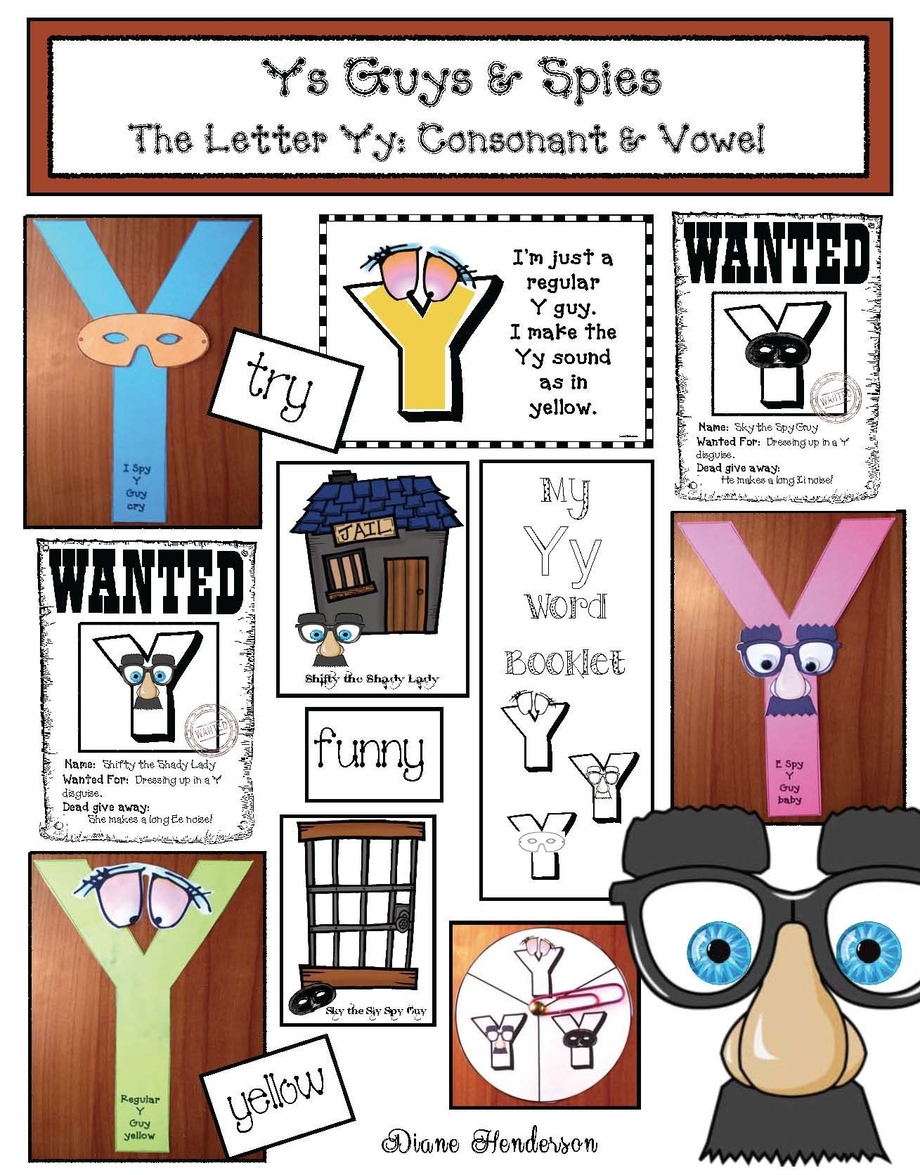 Activities For The Tricky Letter Yy
