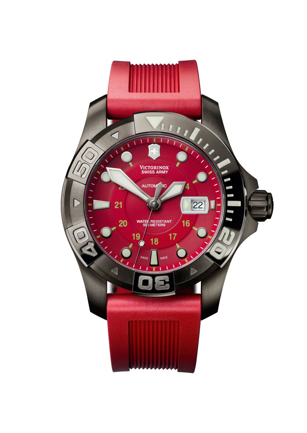 Swiss Army Dive Master 500 is a diving watch