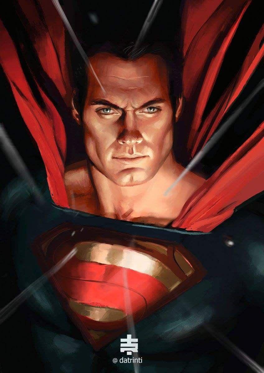 Resultado de imagen para henry cavill superman fan art (con ...
