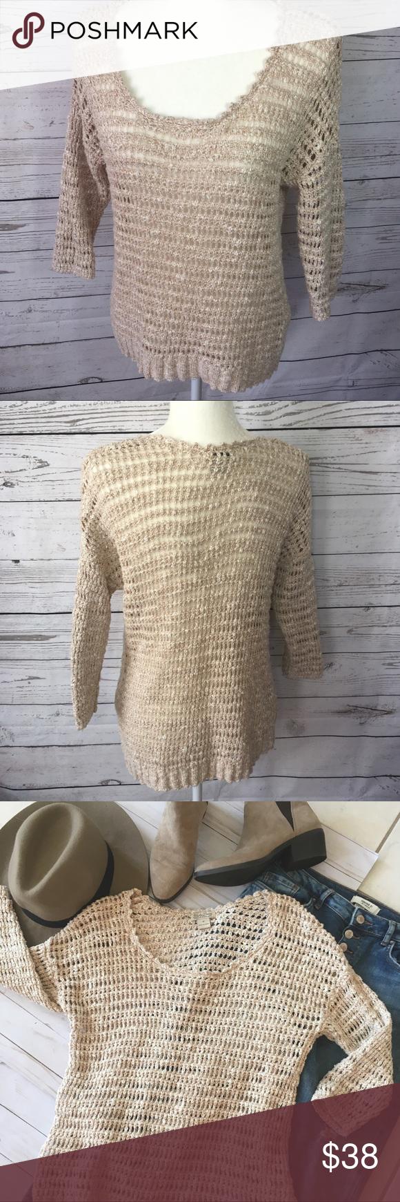 Lucky cotton & linen open crochet sweater. 7WD5063 | Bohemian style ...