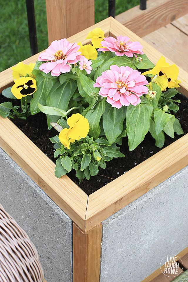 Diy paver planter box great do it yourself planter box to display diy paver planter box great do it yourself planter box to display seasonal solutioingenieria Images