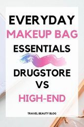 Photo of Makeup Bag Everyday Essentials 2019 | Travel Beauty Blog The most important thing for …