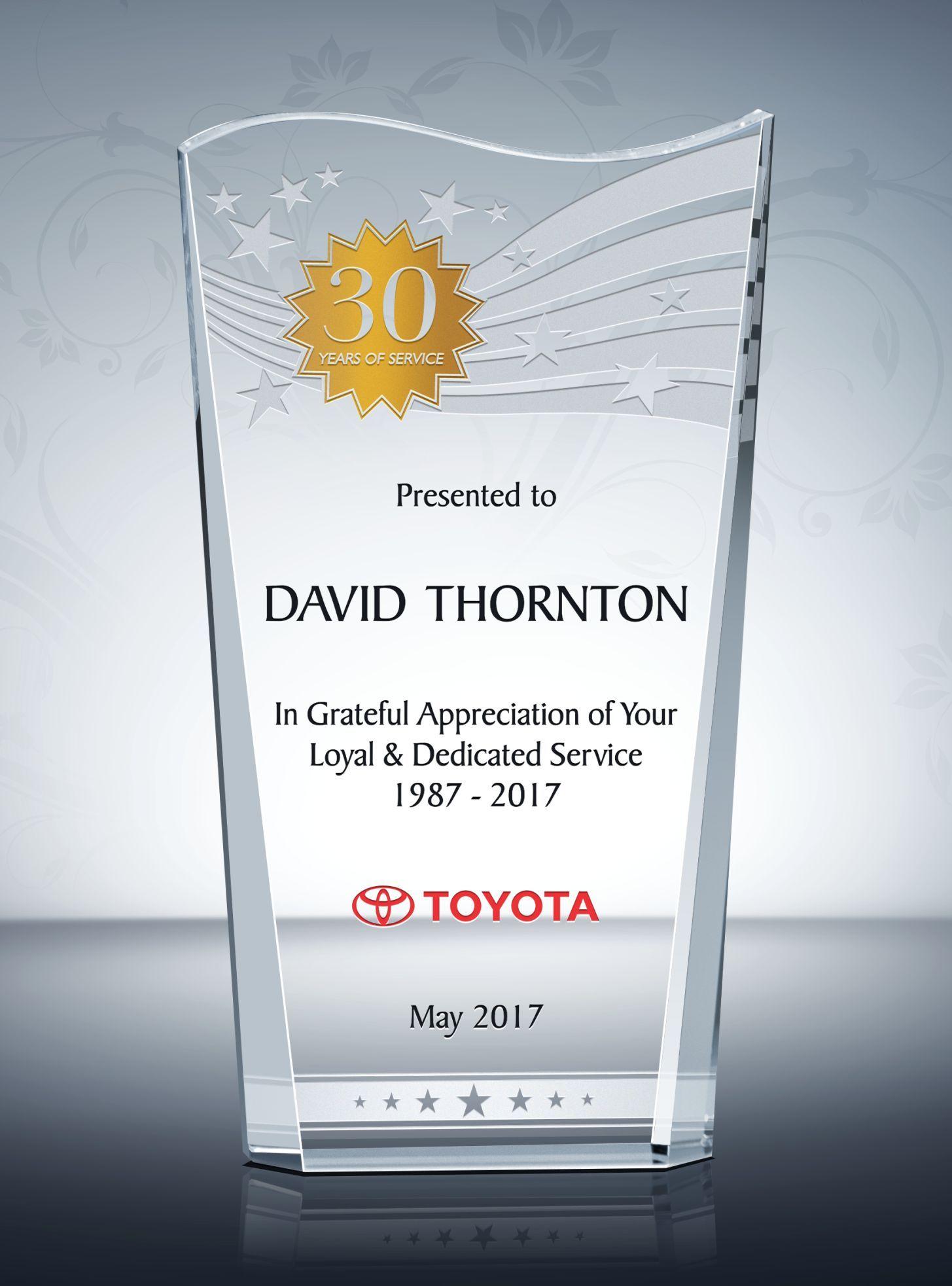wave staff long service awards