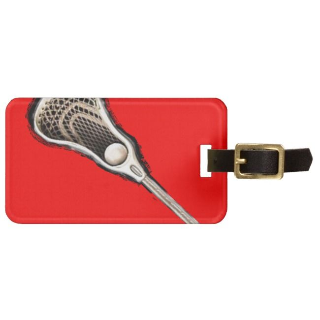 Lacrosse Gear Bag Tag