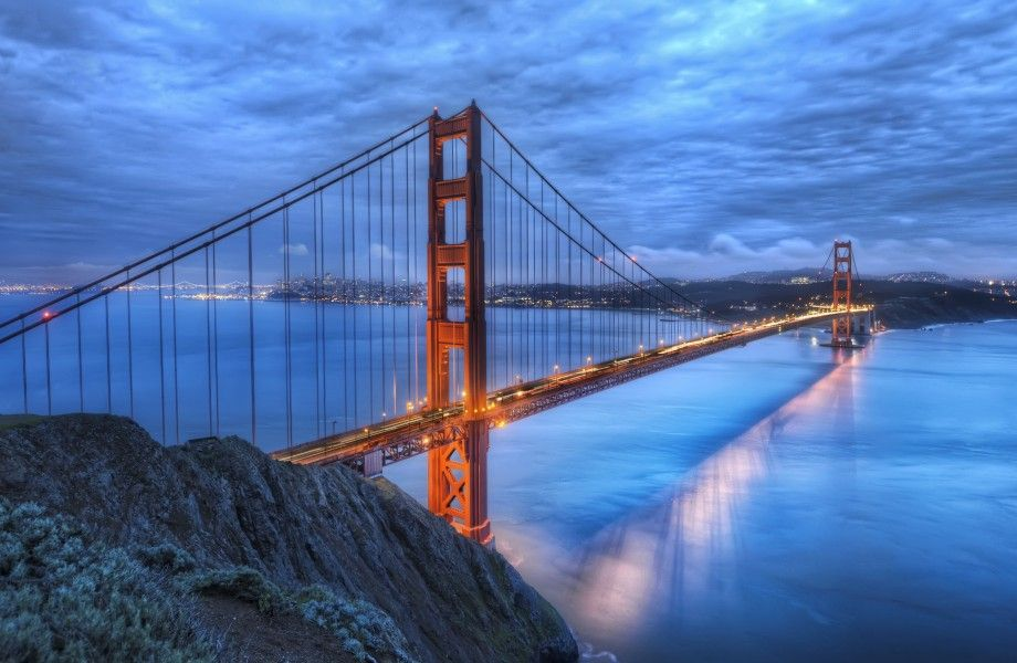 Golden Gate 4k Ultra Hd Wallpaper 4k Wallpaper Net Lugares The Wonders Cidade