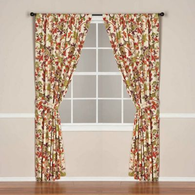 Kitchen: World Market® Campione Rod Pocket/Back Tab Lined Window Curtain  Panel