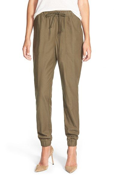 Free shipping and returns on Treasure&Bond Twill Jogger Pants at Nordstrom.com. Relaxed-fit jogger pants cut from comfy twill fabric can be dressed up or down, thanks to sleek pockets and elastic cuffs that add structure and shape to the easy look.<br /><br />When you buy Treasure&Bond, Nordstrom will donate 2.5% of net sales (that's 5% of net profits) to organizations that work to empower youth.