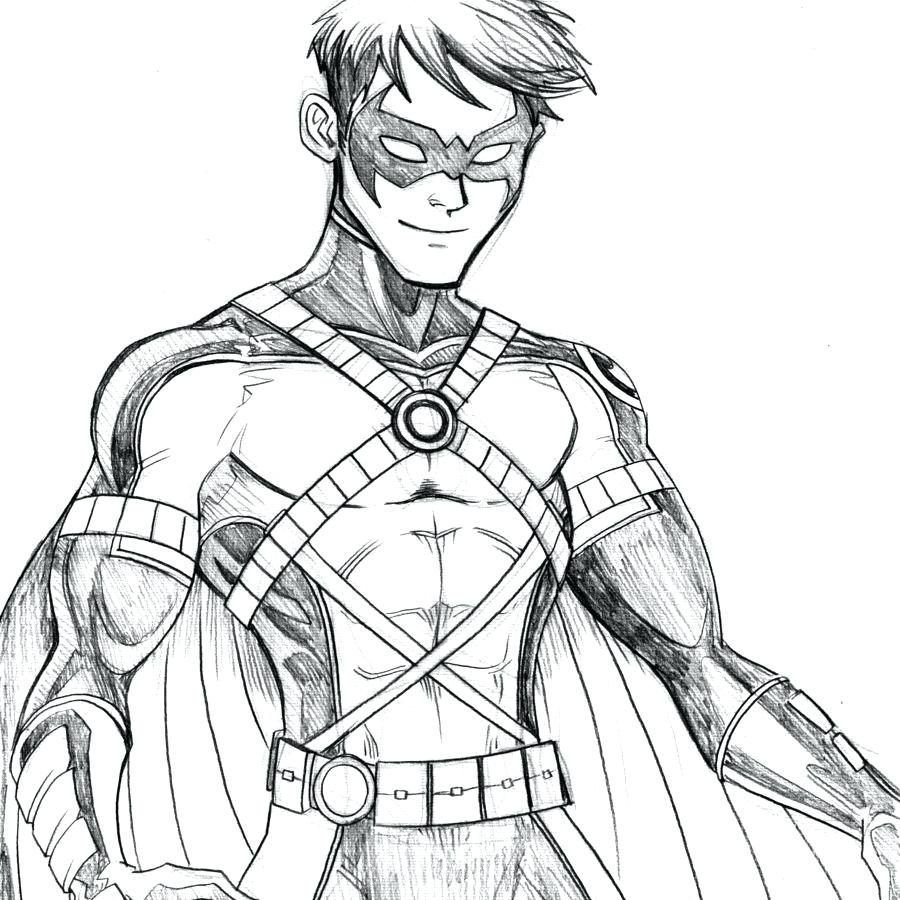 Robin Nightwing Batman Coloring Page Sketch Coloring Pages Batman Drawing Batman Coloring Pages Robin Drawing