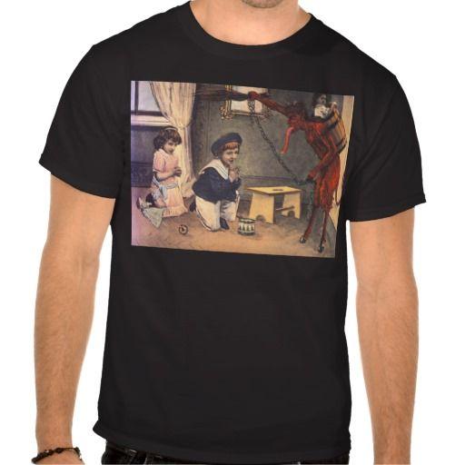 Krampus Kidnapping Bad Children T Shirt Zazzle Com