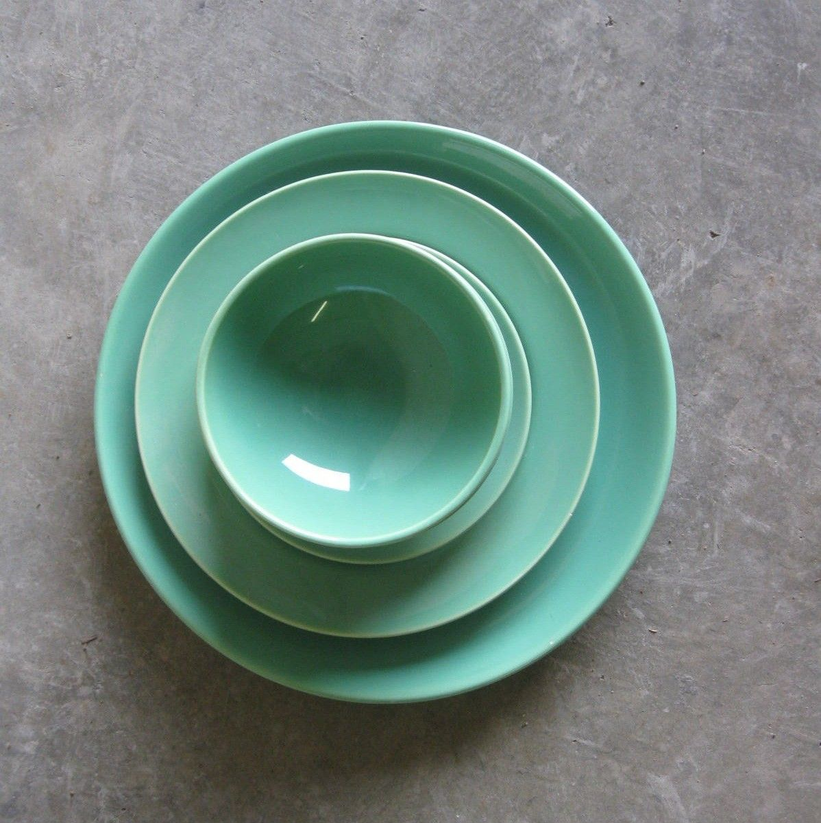 FRANCISCAN DINNERWARE. El Patio Set In Mint.. $16.00, Via Etsy.