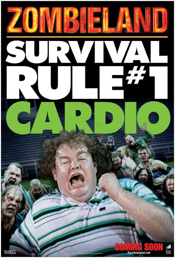 Zombieland Rule 1 Cardio If This Was A Movie You D Be Here By