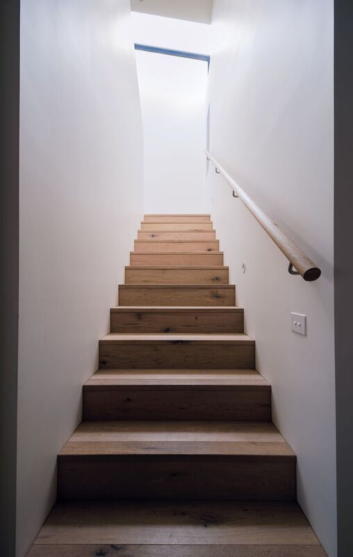 Staircase from Merton project by Vos Architecture (con