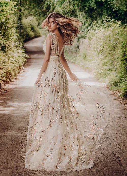 robe de mariée champêtre - Bohème chic |