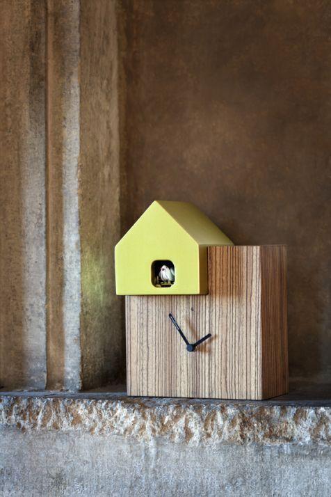 Modern Cookoo Clock - Ettore Sottsass - Orologi a Cucù > Diamantini ...