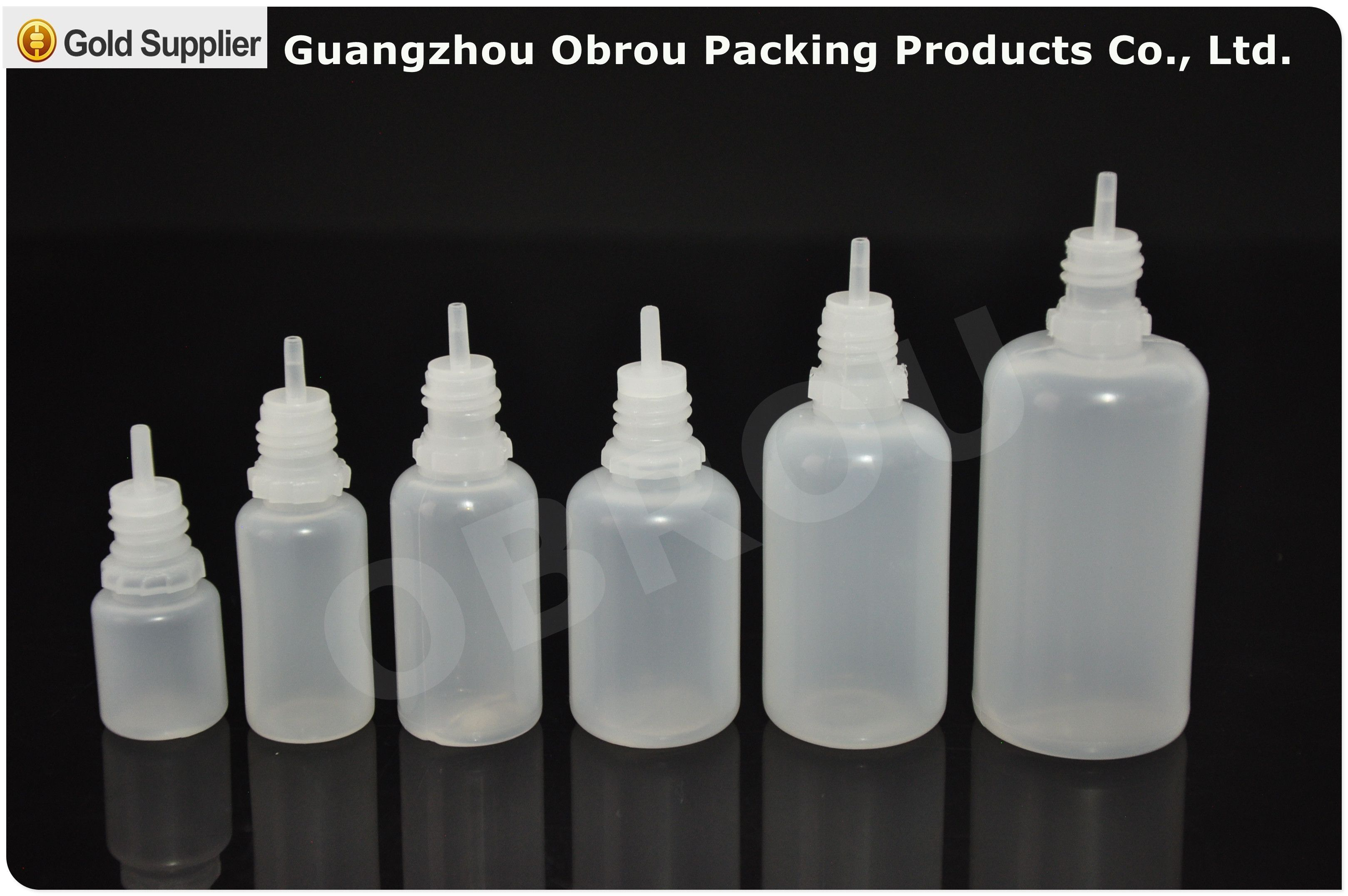 Free Sample Obrou Childproof 10ml 15ml 30ml Clear Pe E Liquid Bottle Pe Plastic Dropper Bottle For Hdpe Ldpe Dropper Bottles Bottle Childproofing