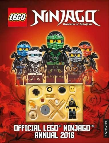 the official lego ninjago annual 2016 annuals 2016 amazoncouk
