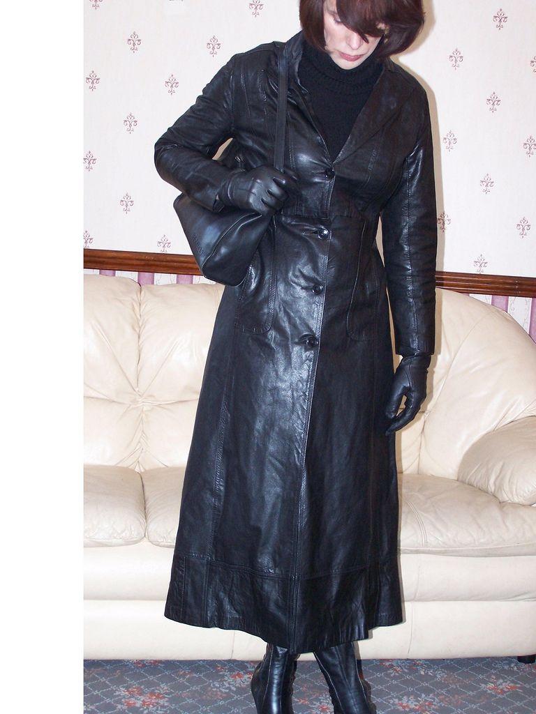 4af99947775 leather Coat