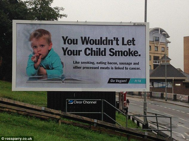 Outrage Over Animal Rights Charity Billboard Featuring A Child