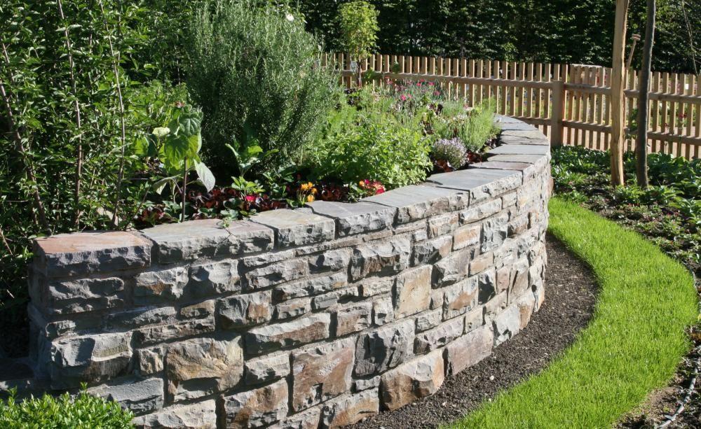 Gartengestaltung mit Mauern Garten, Gartenmauern und