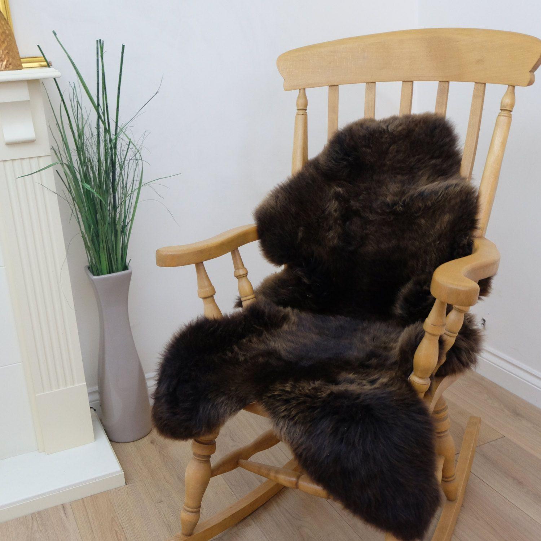 Brown Sheepskin Rug Amazing Softnes Best Quality Cheap