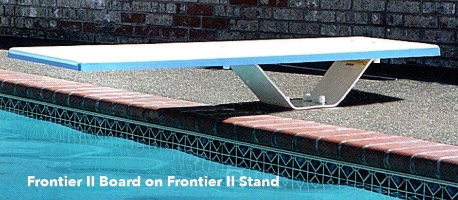 SR Smith Frontier II Jump Stand with Frontier II Diving Board ...