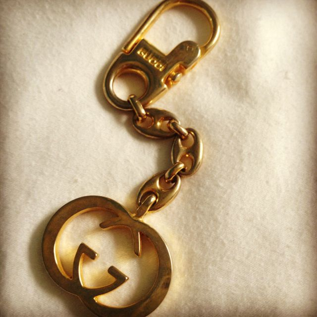 c63df2c63e4 My grandmas vintage Gucci keychain from Italy❤