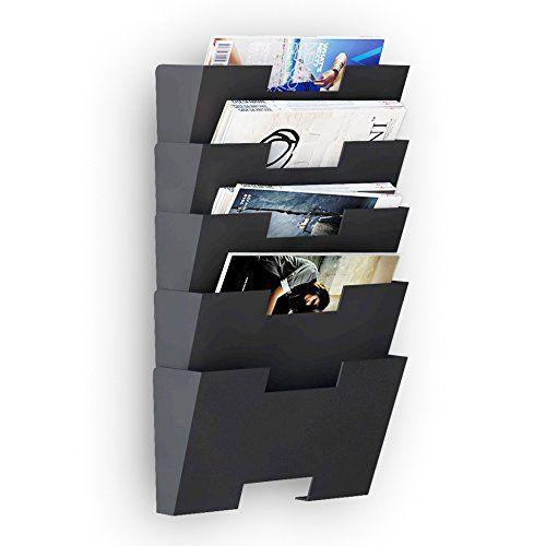 Hanging Wall File Folder Steel Magazine