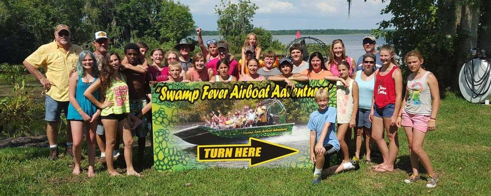 Swamp Fever Airboat Adventures Florida airboat tours near
