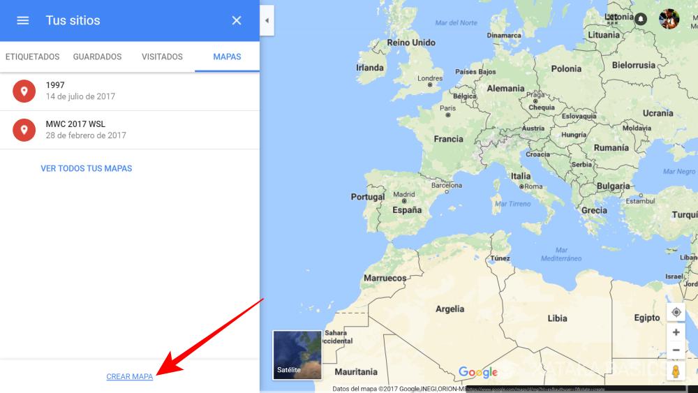 Crear Un Mapa Personalizado.Como Hacer Un Mapa Personalizado En Google Maps Con Cosas A