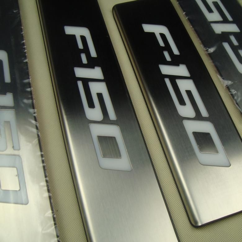 Ford F150 Factory Rims For Sale >> CHROME LED LIGHT Illuminated DOOR SILL Scuff PLATE for ...